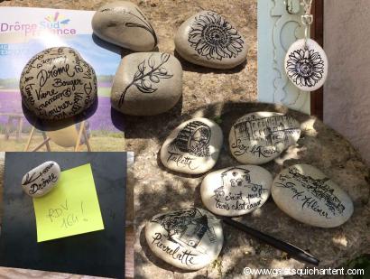 Tourisme : galets souvenir